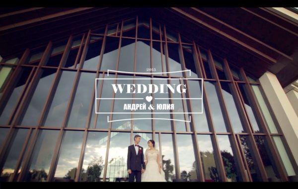 Свадебный клип, Андрей и Юлия